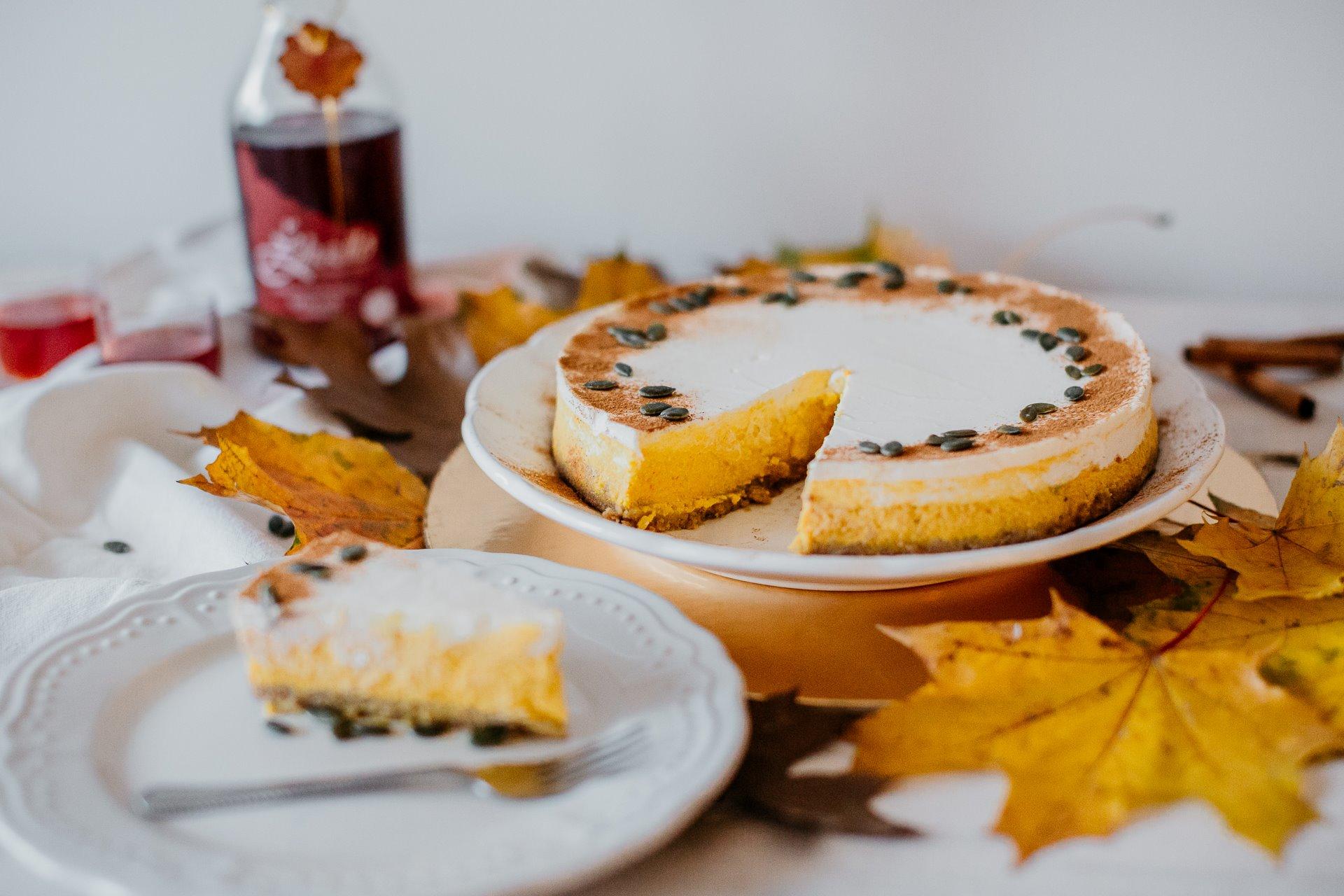 Milujete recepty z dýně? Pak si dýňový cheesecake nenechte ujít!