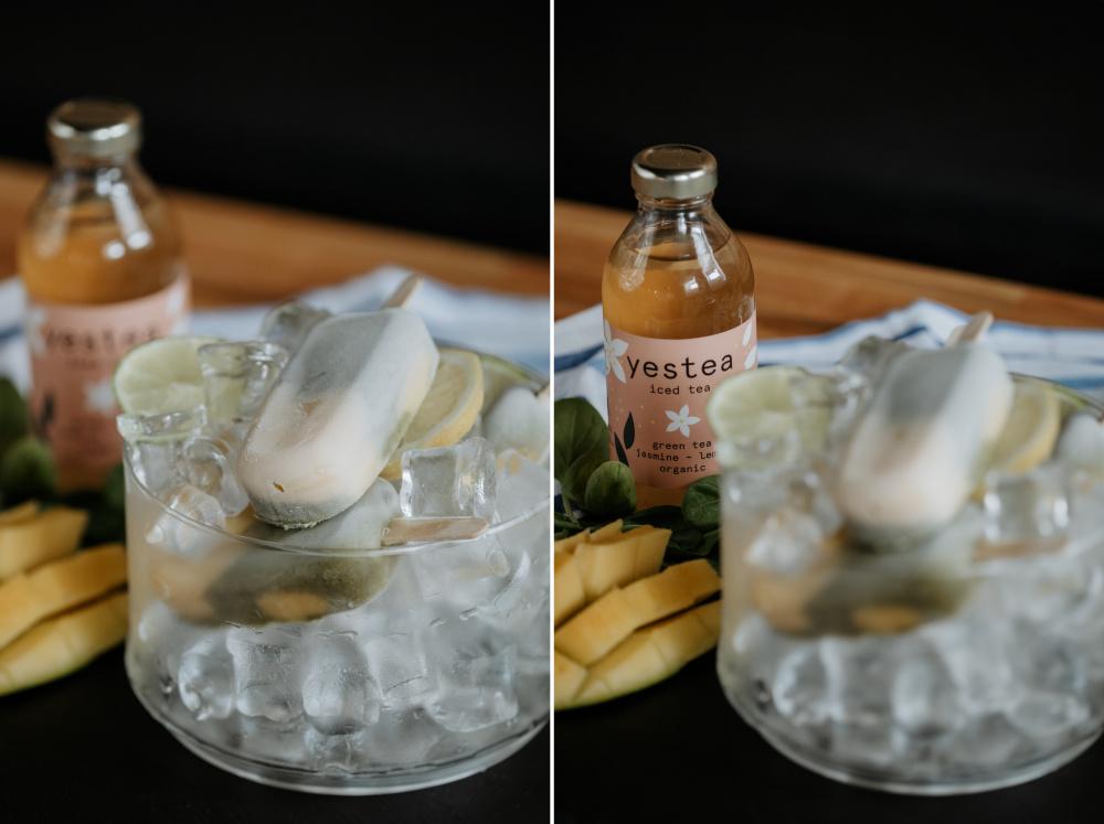 Domácí nanuky z ledového čaje