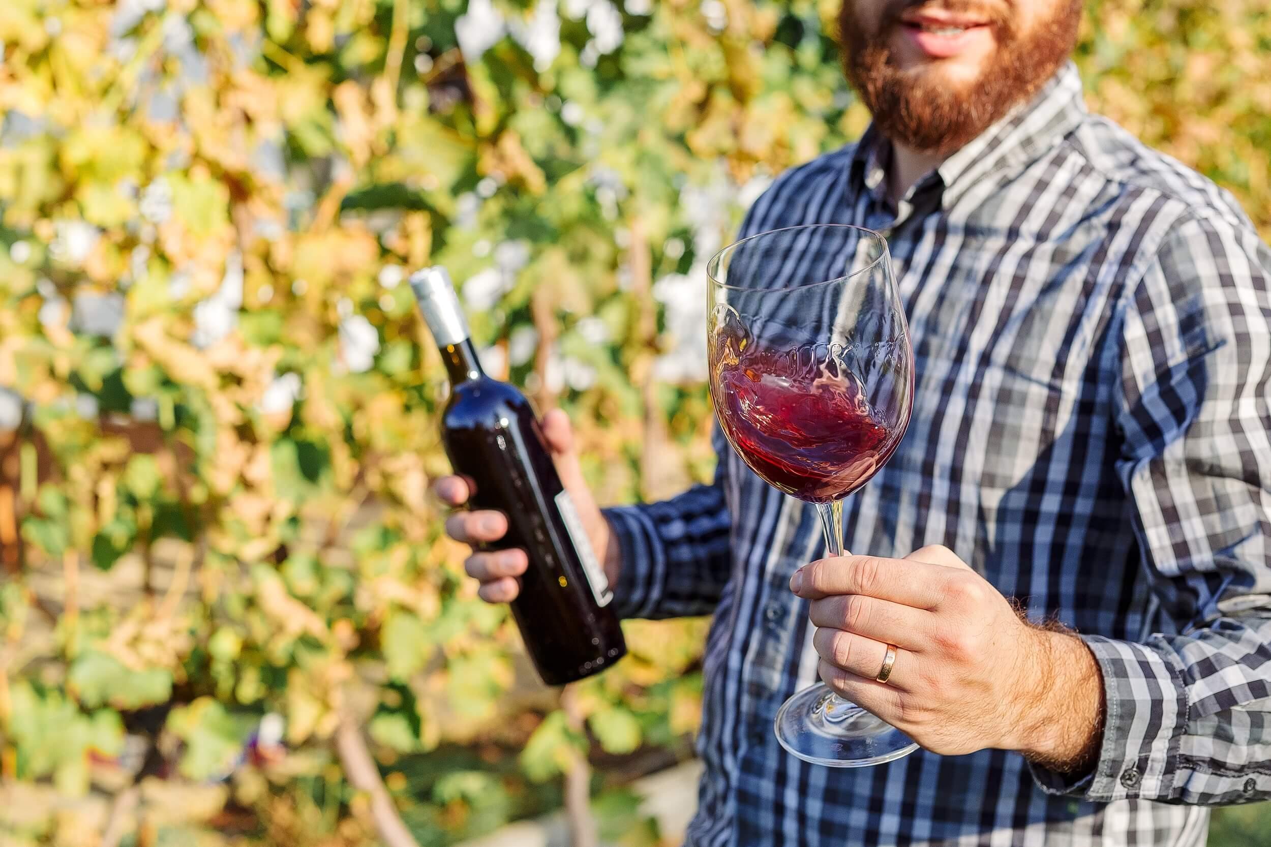 degustace vína typu cuvée