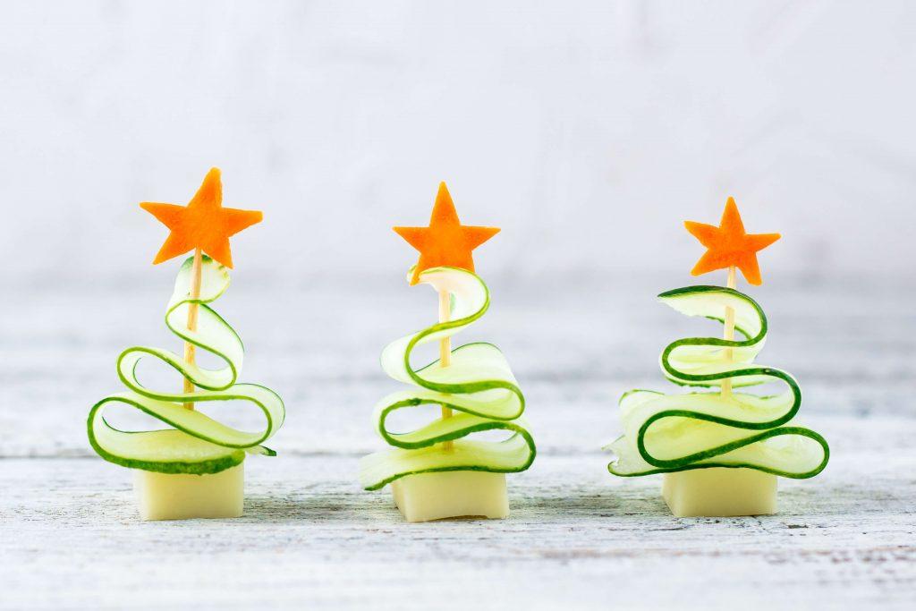 rychlé vánoční jednohubky bez pečiva
